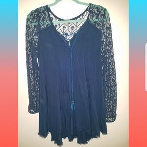 Lacey Blue Fairy Tunic